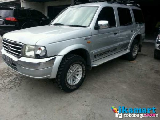 jual ford everest diesel xlt 2006 silver plat ad