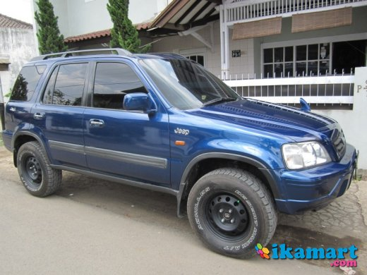 Jual honda crv thn 2000 4x4 built up matic mobil for Where is the honda cr v built