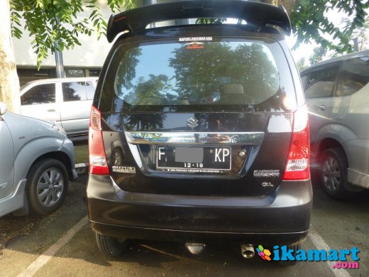 jual karimun wagon gl 2013 hitam