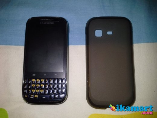 Jual Samsung Galaxy Chat Hitam Mulus Fullset ...