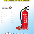 Tabung pemadam api POWDER 4,5 Kg Murah Garansi 12 Tahun