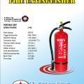 Tabung pemadam api POWDER 3 Kg Murah