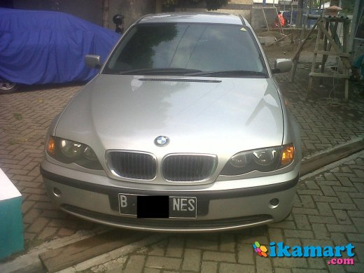 jual bmw 318i a t 2002 silver good condition
