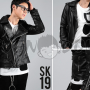 Jaket Kulit Korean Style Biker Jacket