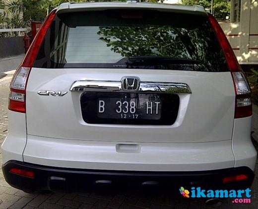 Honda Crv 24 Putih Mutiara Tahun 2007 Automatic