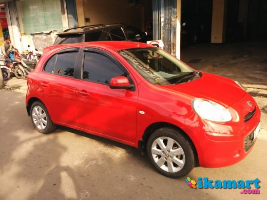 nissan march 2011 mt low km good condition