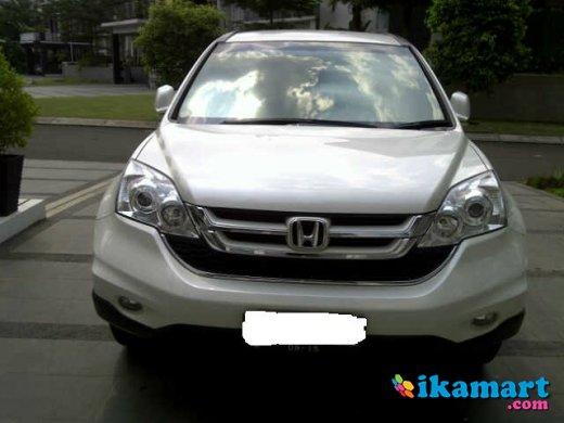 Jual Honda CRV 2010 Putih