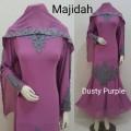 Gamis Majidah Dusty Purple