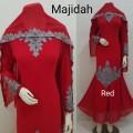 Gamis Majidah red