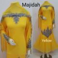 Gamis Majidah Yellow