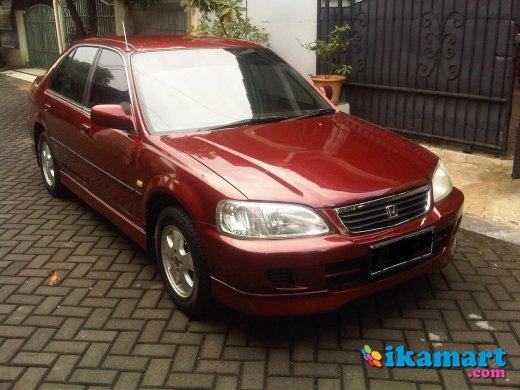 Jual Honda City Z Manual 2001 Merah Mobil