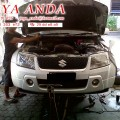 Bengkel perbaikan Onderstel mobil SUZUKI di bengkel JAYA ANDA Surabaya