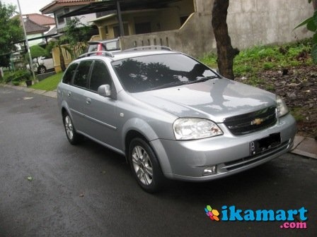 dijual chevrolet estate 2006 ls at silver