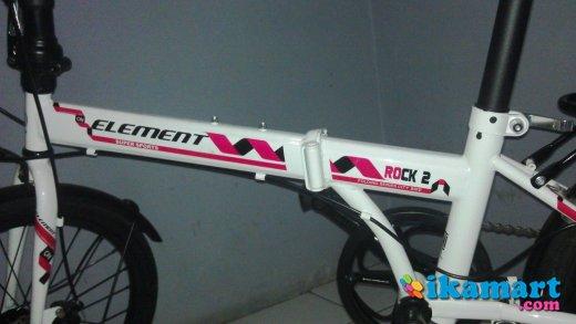 Jual Sepeda Lipat Element Rock 2 Sepeda