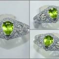Beautiful HOT Fresh Green PERIDOT Crystal - RL 119