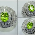 Super Fresh Green PERIDOT Crystal Mulus - RL 141
