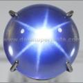 Sparkling Blue MISTIK QUARTZ STAR - BMQ 012