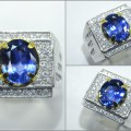 Natural No Heat Vivid Blue SAFIR Crystal, Origin Srilangka - SPC 257 + Memo