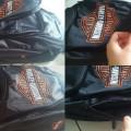 Tas Punggung Backpack Harley Orange Logo