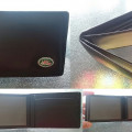 Dompet Land Rover Logo Leather.10.5x8