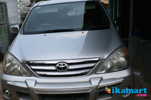 jual toyota avanza s 2006 at