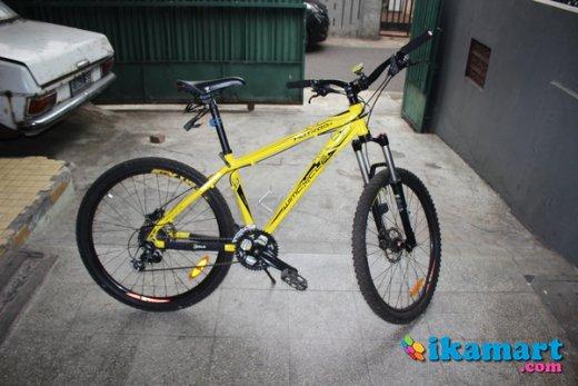 Modifikasi Sepeda Gunung Wimcycle Arena Modifikasi