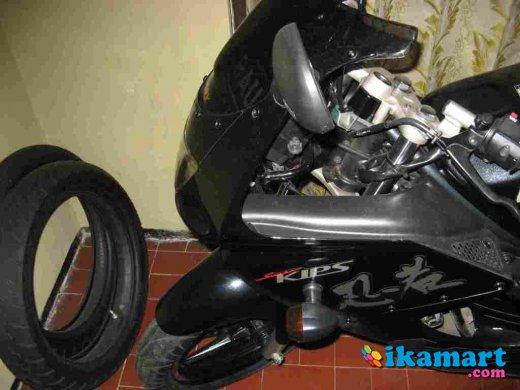 Jual Kawasaki RR 150 Hitam Tahun 2010 GtJakarta Barat