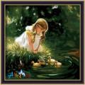 Kanvas Lukisan Anak (Painting Kit GD 000)