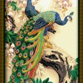 Lukisan | Painting Kit | Canvas 2 Beautiful Birds (ED 010)