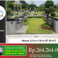 Kavling Type SUPER DOUBLE Pemakaman Muslim Al-Azhar Memorial Garden