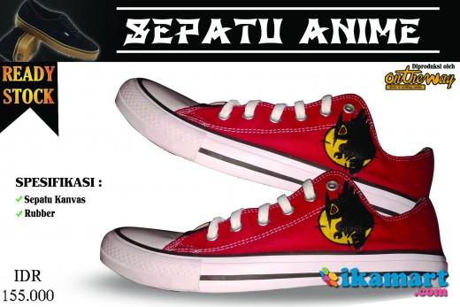 Sepatu Anime Akame Ga Kill Night Raid Limited Edition Sepatu