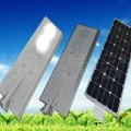 Lampu Jalan 40 Watt ALL IN ONE System, Integrated Solar Street Light