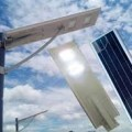 LED OPTIMA-AN-ISSL 50 WATT, LAMPU JALAN SOLAR CELL ALL IN ONE SYSTEM, LAMPU LISTRIK SURYA INTEGRATED SOLAR STREET LIGHT