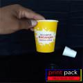 CUP PLASTIK SABLON 2 SISI 1 WARNA BSM (LEBIH TEBAL) ANTAR GOJEK