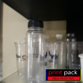 cup plastik sablon 2 sisi 1 warna 8 gr