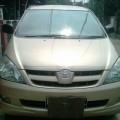 Toyota inova G at 2005 Kuning metalik (Champange)