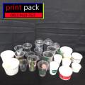 Sablon/Printing GELAS Thai Tea (GELAS CUP PLASTIK PP)14oz 7gram
