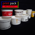 Sablon/Printing GELAS Thai Tea (GELAS CUP PLASTIK PET)28oz