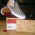 Vans Off The Wall Classic Slip On Black White Checker Original BNIB