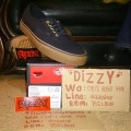 Vans Off The Wall Authentic Black Rubber Original BNIB
