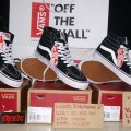 Vans Off The Wall Sk8Hi Black White Original BNIB