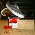 Vans Off The Wall Era Laceless Pro A-Skate Charcoal