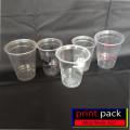 Sablon Gelas Plastik / Printing Gelas Plastik / cup oval /cup U
