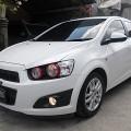 Chevrolet All New Aveo 1.4 LT Tiptronic pmk Februari 2013 asli DK putih