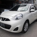 All New Nissan March 1.2 Manual pmk' April 2015 asli DK Low km putih