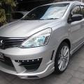 Nissan Grand Livina XV XTronic CVT th 2013 asli Bali Full Variasi