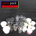 Gelas Thai Tea/Kopi Sablon/Printing (GELAS CUP KERTAS) 12oz