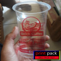 Sablon Gelas Cup Plastik - 16 Oz 8 Gram SA