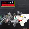 Gelas Thai Tea/Kopi Sablon/Printing (GELAS CUP KERTAS) 8oz