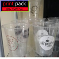 Sablon/Printing GELAS Thai Tea (GELAS CUP PLASTIK PET)14oz